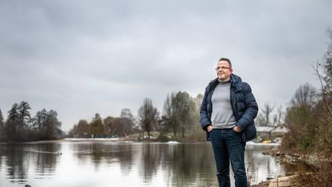 Thomas Silber (55) aus Heppenheim hat Corona nur knapp überlebt. Archivfoto: Lotz