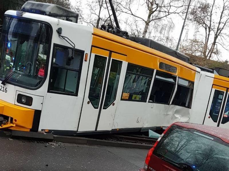 Mainz Straßenbahn Unfall
