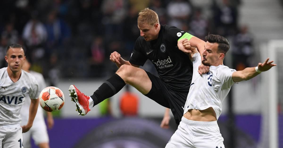 Europa League: Eintracht-Remis mit wildem Ende