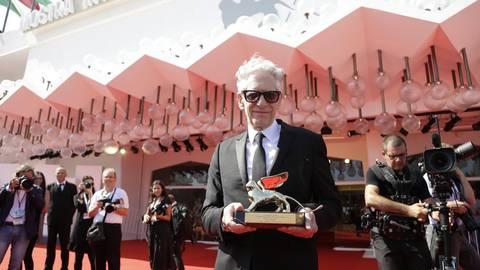 Der kanadische Regisseur David Cronenberg erhielt für sein Lebenswerk den Goldenen Ehrenlöwen. Foto: dpa