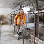 Keine Kühe mehr im Stall: Christoph Landau aus Wallerstädten hat die Milchviehhaltung aufgegeben, wie viele andere Bauern auch. Archivfoto: Vollformat/Volker Dziemballa
