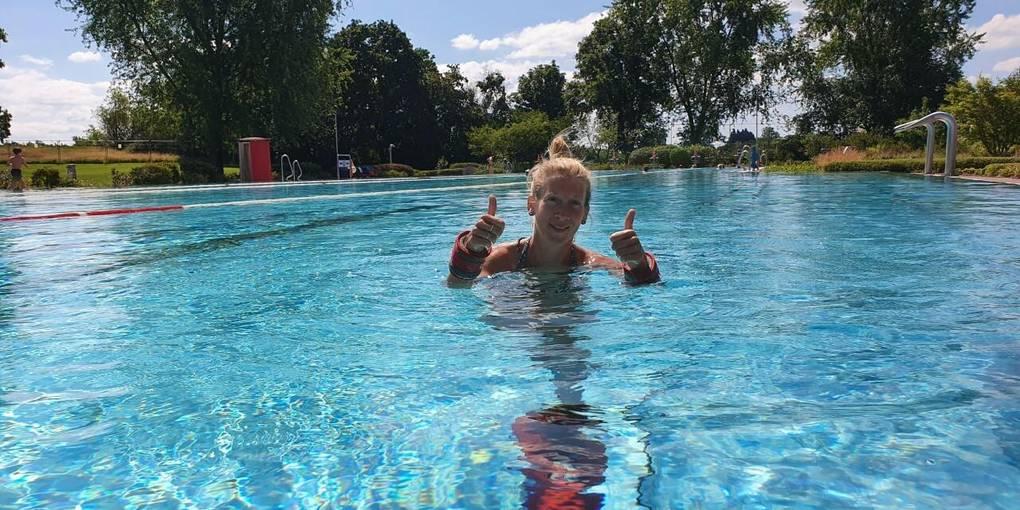 Schwimmbaderöffnung Corona
