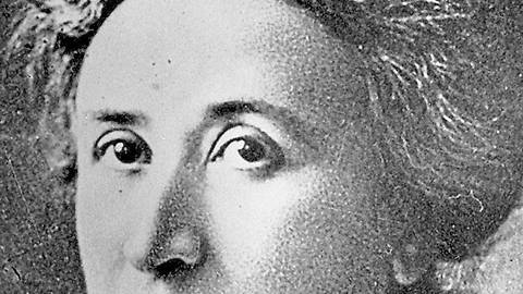 Analytikerin und Kämpferin: Rosa Luxemburg. Foto: dpa