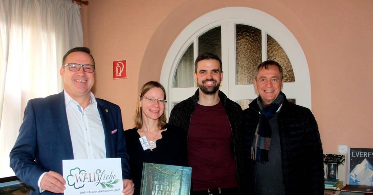 Neu-Anspach stellt Waldschutzprojekt vor - Usinger Anzeiger