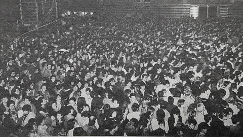 Ein Konzert diese Größe unter dem Dach der Hessenhalle hatte Alsfeld bis zum Auftriftt von Herbert Grönemeyer noch nicht erlebt. Foto: repro/Matthias Nicolai