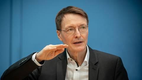 Karl Lauterbach, Gesundheitsexperte der SPD. Foto: dpa