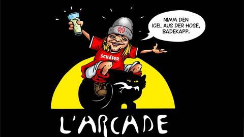 """the best attitude 20e29 2088b Legendär!"""" - Guido Schäfer und das L'Arcade"""