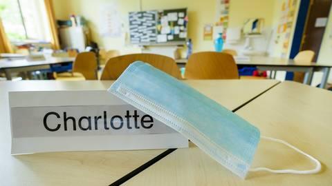 Ja oder Nein: Masken im Unterricht sind ein heiß diskutiertes Thema. Foto: Sascha Kopp