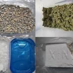 Sichergestellt wurden Marihuana, Haschisch, Kokain, Crystal Meth, Ecstasy, Amphetamin sowie LSD-Trips. Foto: Polizei