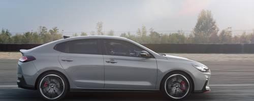 Die N-Fraktion in der i30-Fraktion wächst. Jetzt kommt mit dem Fastback auch eine Coupé-Variante hinzu. Foto: Hyundai