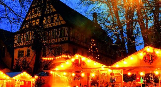 Weihnachtsmarkt In Rothenburg Ob Der Tauber Und Dinkelsbuhl