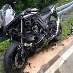 Mit schweren Verletzungen hat der Besitzer dieser Maschine den Unfall überstanden.  Foto: Weitzel