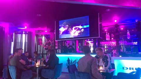 """""""Miracle by Gina-Lisa"""" heißt die neue Bar in Münster, die das Model Gina-Lisa Lohfink mit zwei Freunden eröffnet hat. Foto: Isabel Hahn"""