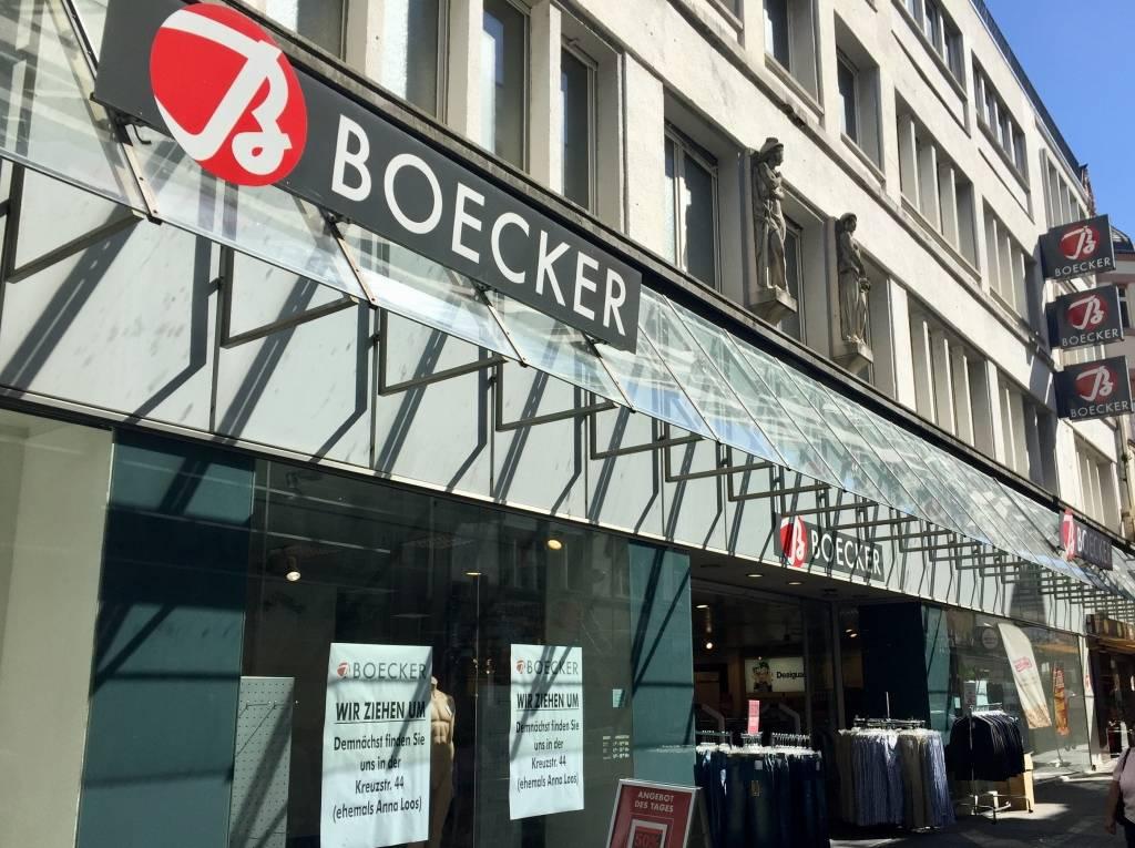 3b1fa892a30bc9 Zehn Mitarbeitern wird gekündigt  Modehaus Boecker zieht um