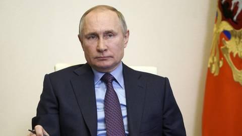 Der russische Präsident Wladimir Putin. Foto: dpa