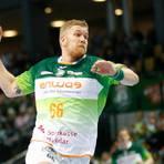 Anton Lindskog schwang sich beim lange durchwachsenen Test zum besten Torschützen der HSG auf. Foto: Ben