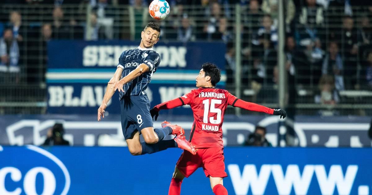 Eintracht mit schwacher Vorstellung gegen Bochum
