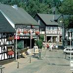 Fachwerkhäuser zieren die Altstadt in Bad Marienberg. Foto: Heidrun Braun
