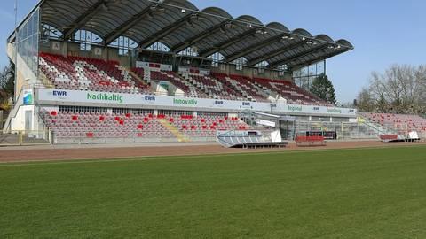 Aus der Traum vom Aufstieg in die Regionalliga? In der EWR-Arena macht sich Ernüchterung breit. Archivfoto: BK/Dirigo