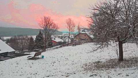 Dieses Grundstück ist das letzte verfügbare Baugrundstück der Gemeinde. Der hintere Teil soll jetzt an eine Familie verkauft werden. Foto: Norbert Krupp