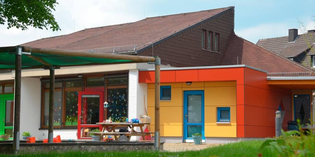 Der katholische Kindergarten Sankt Anna: Egal ob städtisch oder kirchlich - die Plätze in Braunfels reichen nicht.  Foto: Lothar Rühl