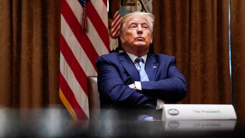 Donald Trump, Präsident der USA. Foto: dpa