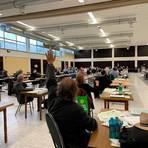 Die letzte Sitzung vor der Kommunalwahl: Der neugewählte Kreistag tritt am Freitag zum ersten Mal zusammen.  Archivfoto: Mika Beuster