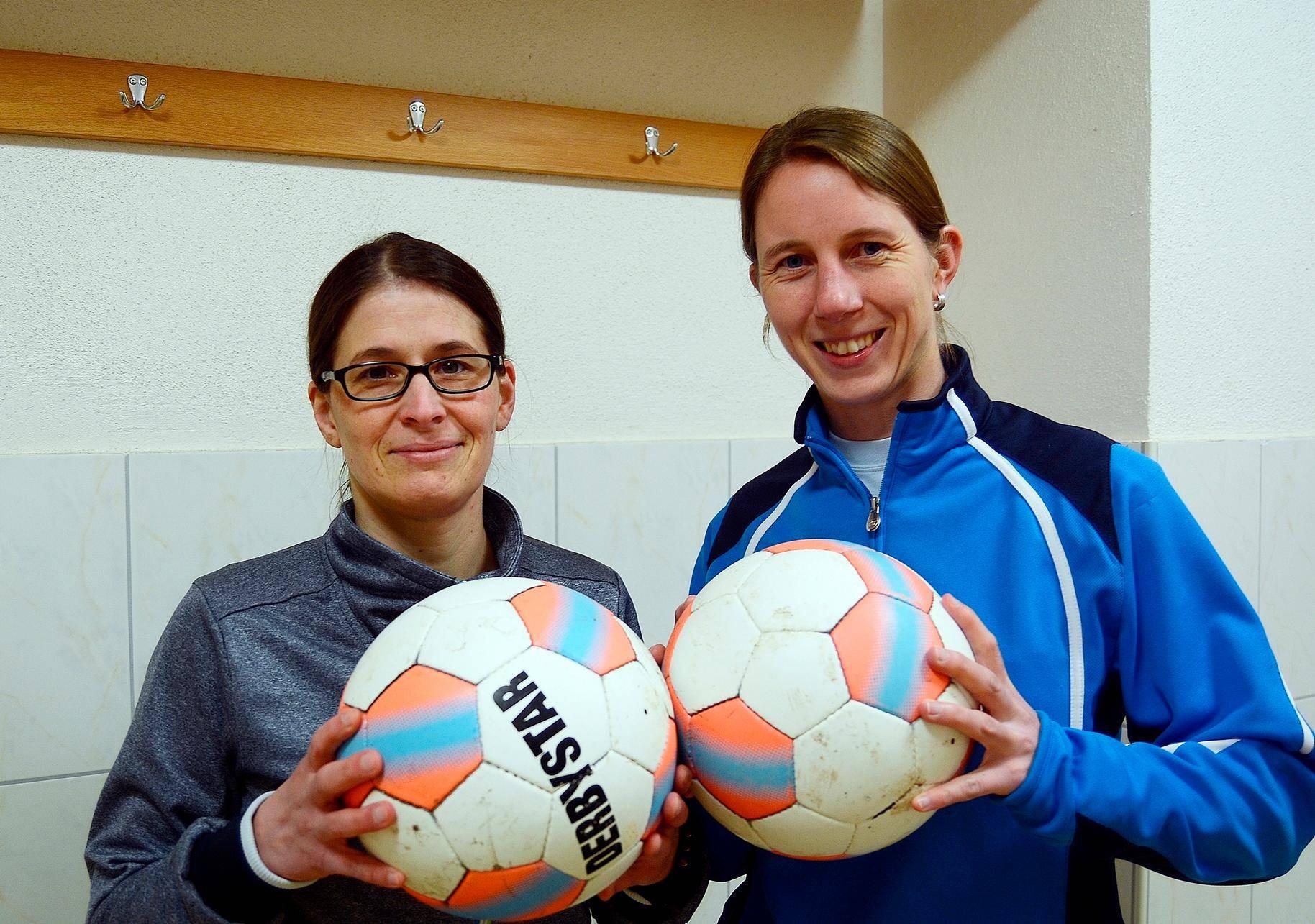 Christina Reichenauer Und Sabrina Hanke Mit Sg Freiensteinau