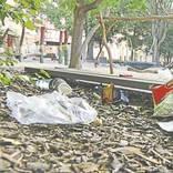 Fäkalien am Balancier-Stamm: Spielplätze versinken im Müll