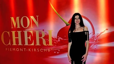 Anja Kossiwakis Abendkleid - ausgesucht von Mark Delano. Foto: Kossiwakis