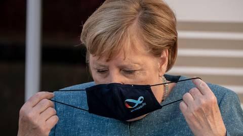 Kanzlerin Angela Merkel spricht in ihrer Sommerpressekonferenz auch über die Corona-Pandemie. Archivfoto: dpa