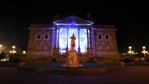 Die musikalische Kunstinstallation wurde von der Landeshauptstadt Wiesbaden untersagt. Foto: De-Da Productions