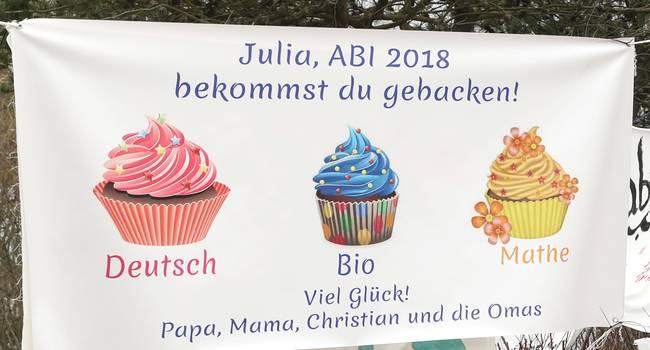 In Wiesbaden Haben 1300 Schüler Abi Stress Plakate Sollen