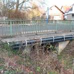 """Im Zuge des Ausbaus der Ortsdurchfahrt Wilsbach soll auch die Brücke über den """"Jordan"""" erneuert werden. Foto: Helga Peter"""