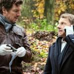 Bootz (Felix Klare) und Lannert (Richy Müller) nehmen die Ermittlungen auf. Foto: SWR/Benoit Linder