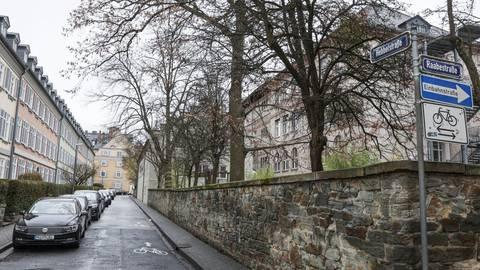 Im Dichterviertel klagen Anwohner über Schleichverkehr. Archivfoto: René Vigneron