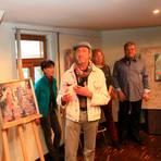 Jan Maria Dondeyne erläutert seine Arbeit. Foto: dos