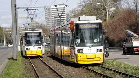 Wird das Straßenbahnnetz weiter ausgebaut? Archivfoto: Sascha Kopp