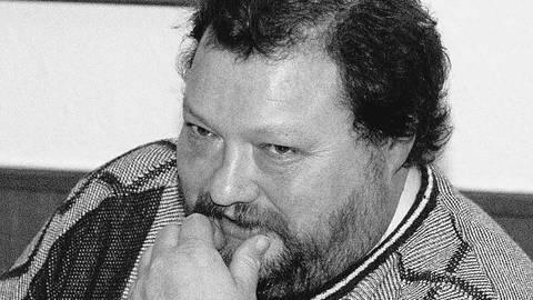 """""""Beppo"""" Brehm, hier in einem Interview aus dem Jahr 2000, ist im Alter von 66 Jahren verstorben. Archivfoto:  Martin Hartmann"""