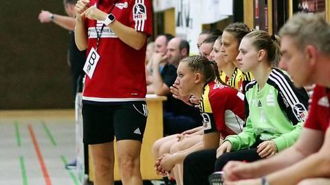 Trainerin Heike Ahlgrimm freut sich über doppelt besetzte Positionen. Archivfoto: Pfliegensdörfer
