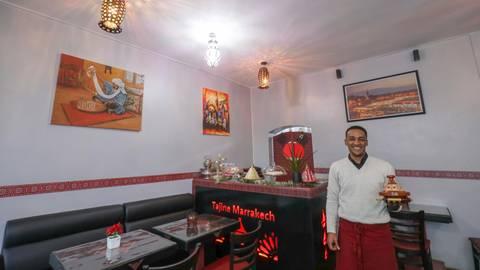 Den Traum vom eigenen Restaurant hat sich  Abdelilah Oueldlahrouch erfüllt.   Foto: Guido Schiek