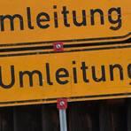 Von Montag bis voraussichtlich Mittwoch wird die Landesstraße zwischen Allendorf und dem Hickengrund voll gesperrt. Die Umleitung führt über die Kalteiche.  Symbolfoto: Angelika Warmuth/dpa