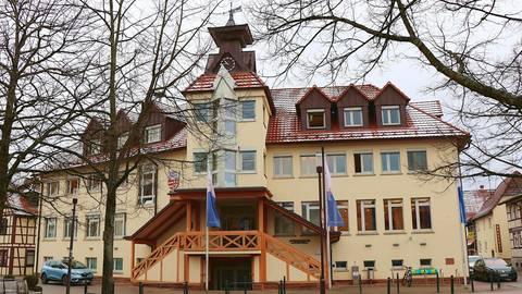 Der Keller des Rathauses in Rimbach soll saniert werden. Foto: Katja Gesche