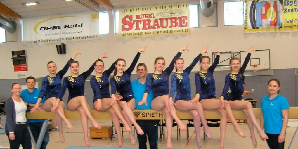 Turnerinnen Uberzeugen Zum Landesliga Auftakt