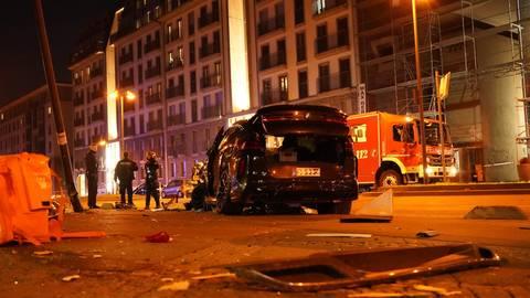 Die Polizei ermittelt bei einem schweren Unfall in Frankfurt mit mehreren Verletzten. Foto: 5vision.media