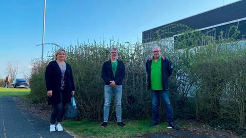 Dem Ortsbeirat Allendorf gehören (v.li.) Swetlana Jochim, Stefan Schrödl und Klaus Brückel an.  Foto: Gemeinde Merenberg