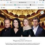 "So präsentiert die ""Met"" ihre Gaststars im Staatstheater (von links): Michael Volle, Elza van den Heever, Christine Goerke und Andreas Schager. Foto: Metropolitan Opera"
