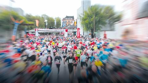 Laufen auf Mainzer Asphalt. Archivfoto: Lukas Görlach