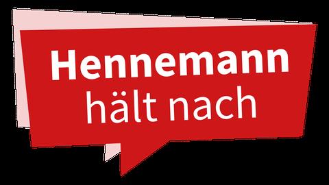 """""""Hennemann hält nach"""": Jede Woche kommentiert der Echo-Chefredakteur ein Thema, das die Menschen bewegt. Grafik: VRM"""
