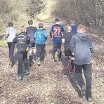 Sport im Freien - ob beim gemeinsamen Waldlauf oder bei der Trainingsarbeit auf dem Platz - hält Biophysiker Dr. Gerhard Scheuch für unbedenklich.  Foto: André Bethke